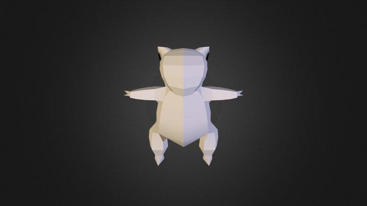 Sandshrew (no texture) 3D Model