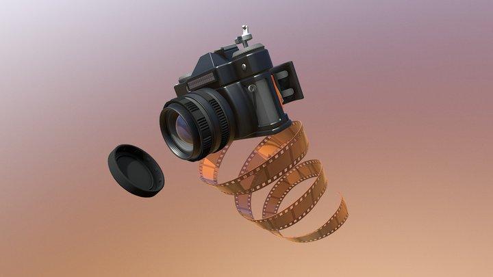 DraftPunk HW#7: Mechanics (Vintage Camera) 3D Model