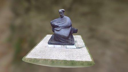 Spomenik Marku Maruliću 3D Model