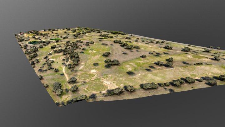 Club de Golf Pozoblanco 3D Model