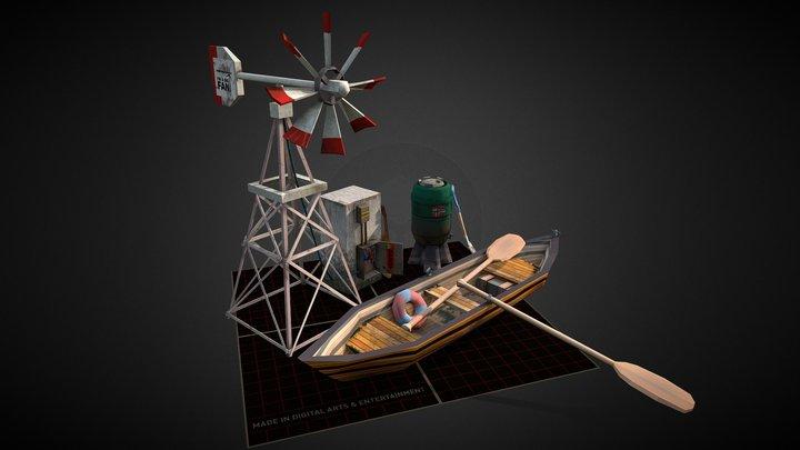 5 Props Assignment 3D Model