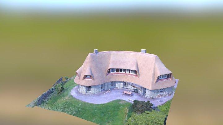 Maison+jardin 3D Model