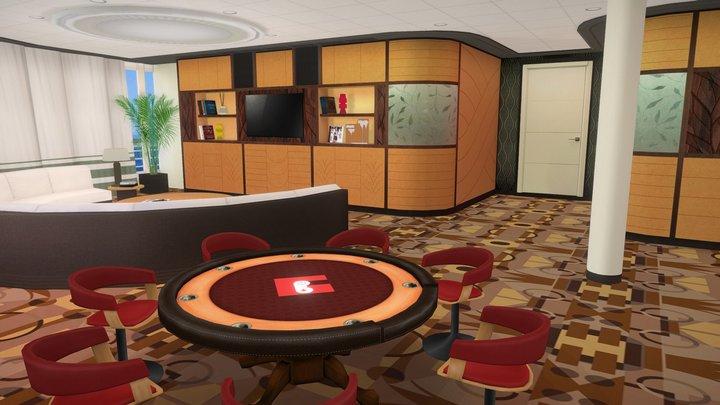 Cruise Room 3D Model