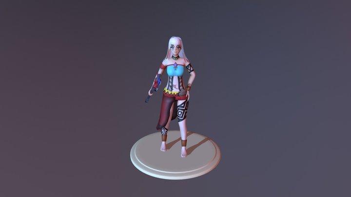 Jaci Modelagem 3D Model