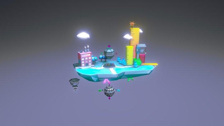 Island Math All 3D Model