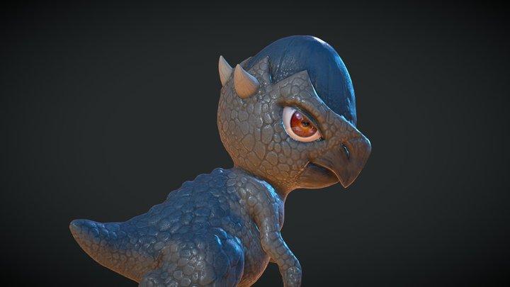 Cranidos 3D Model