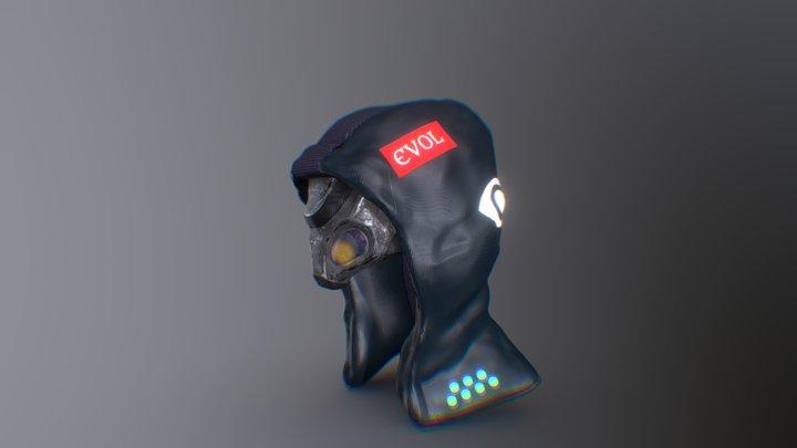 Dystopian Hood/Faceplate [evol] 3D Model