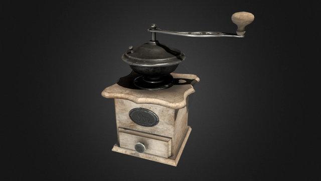 Coffeemill 3D Model