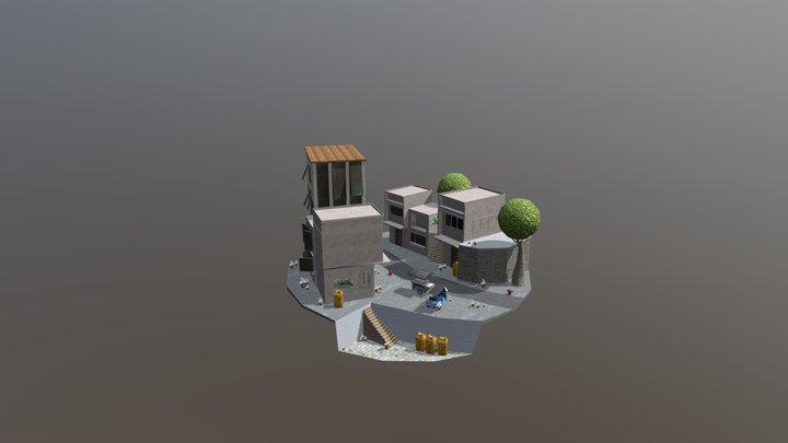 1DAE08 De Roose Ricca City Scene 3D Model
