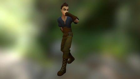Adventure Male 3D Model
