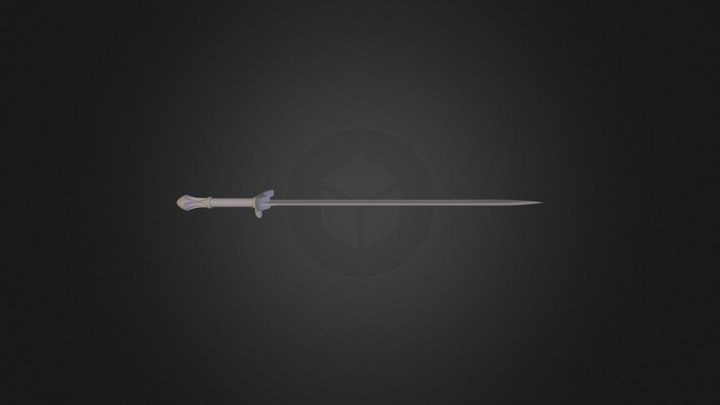 Glamdring (Gandalf Sword) 3D Model