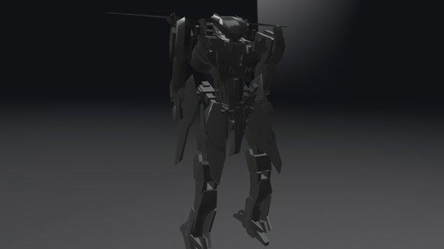 Lailah Mech WIP 3D Model