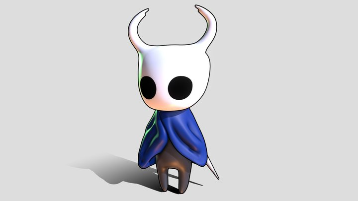 The Knight (Hollow Knight) 3D Model