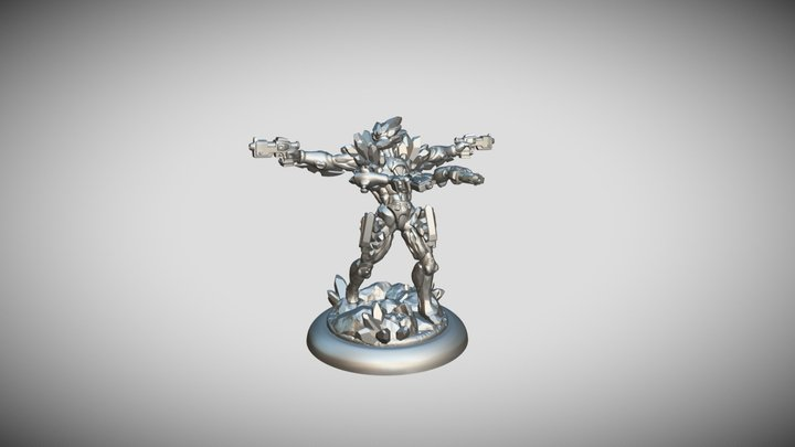 Star Scrappers : Mineggler Eye of the Void 3D Model