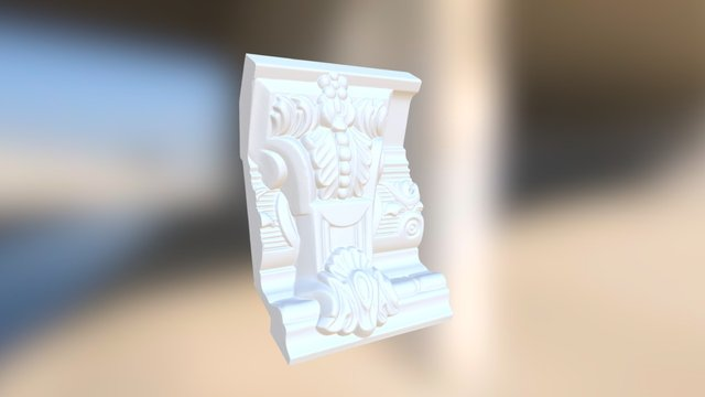 molding2 3D Model