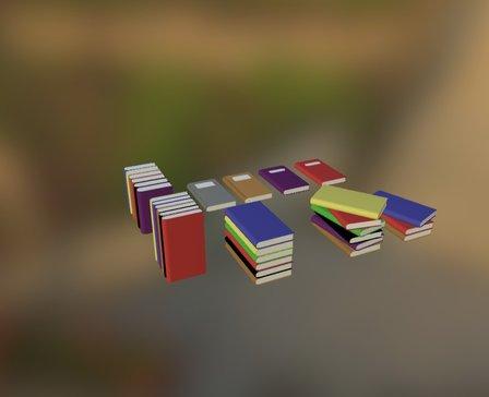 Books by Henbi 3D Model