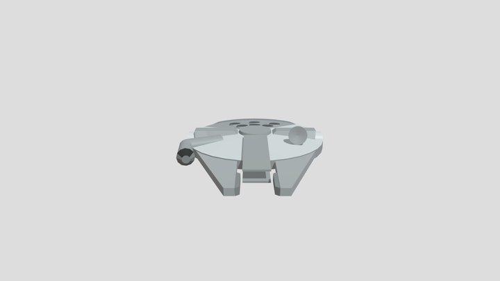 Millenium Falcon draft 3D Model