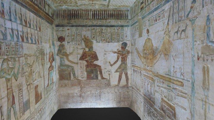 Capilla de Amon-Socares-Osiris 3D Model