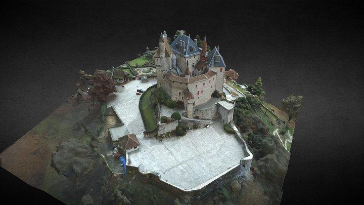 Chateau de Menthon 3D Model