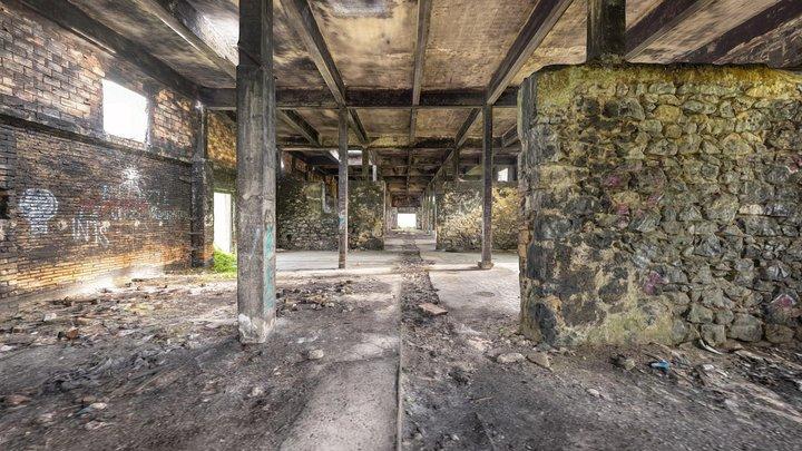 Abandoned warehouse 3d scan 3D Model