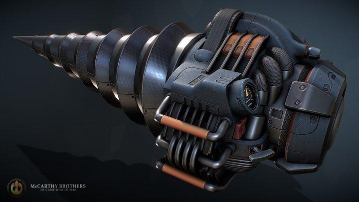 Bane Drill 3D Model