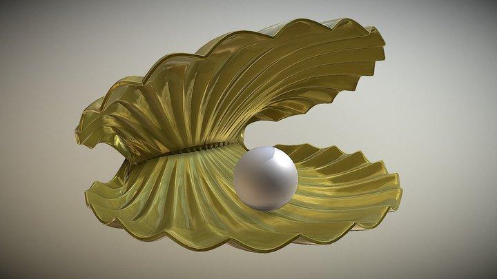 Shell 3d model 3D Model