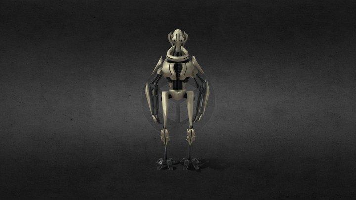 General Grievous 3D Model