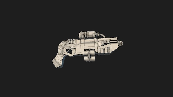 Soda Gun 3D Model