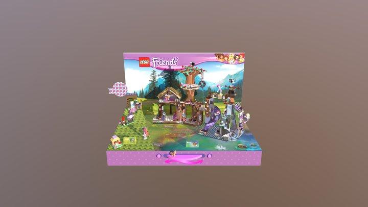 2ft_LEGO_friends_Adventure_Camp 3D Model