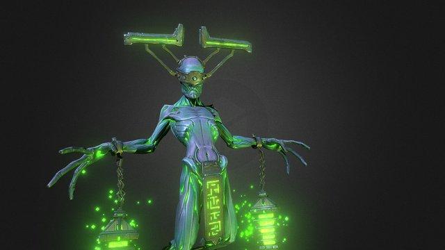 Cursed 3D Model