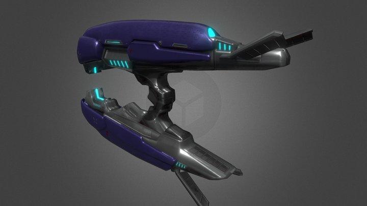 Halo - Plasma Rifle 3D Model
