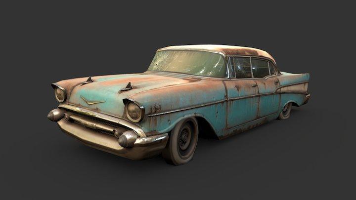 1950's Sedan 3D Model