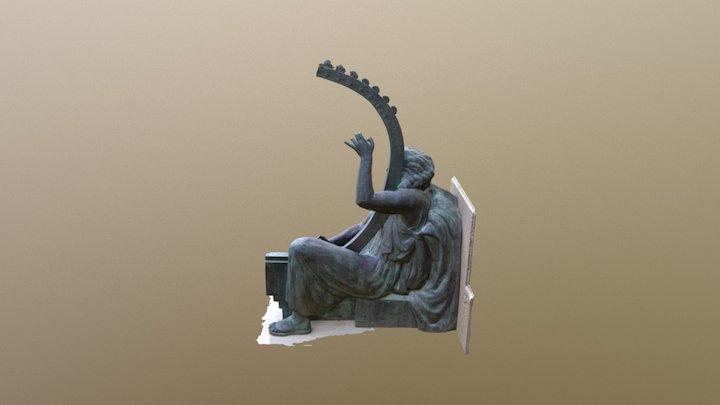 Statue in Constanta 3D Model