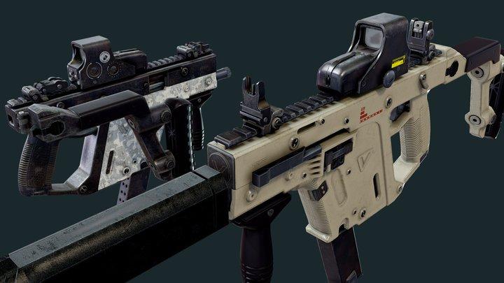 SMG_Kriss_V 3D Model