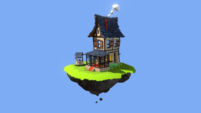 Remember House 3D Model