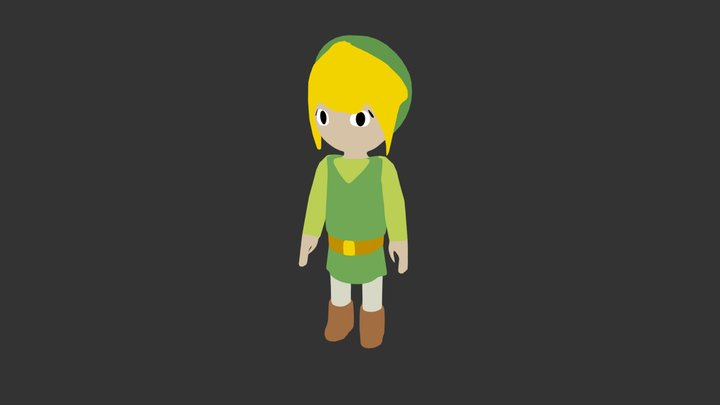 Link Animation Cycle 3D Model