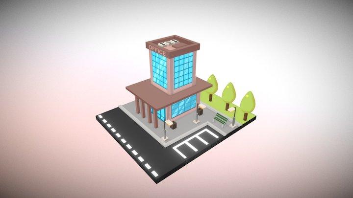 Isometric: Office 3D Model