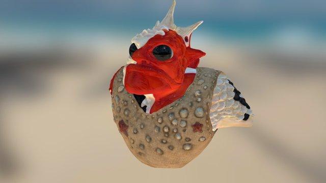 Fish monster 3D Model