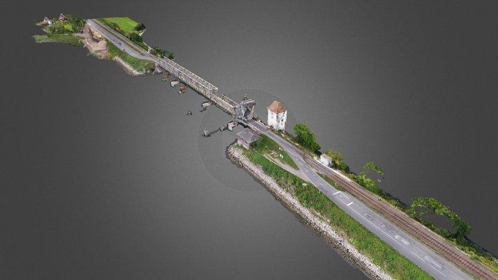 Lindaunis Schleiquerung 04.09.2020 3D Model