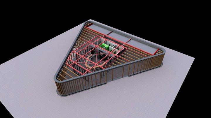 recepcija mon_perin 3D Model
