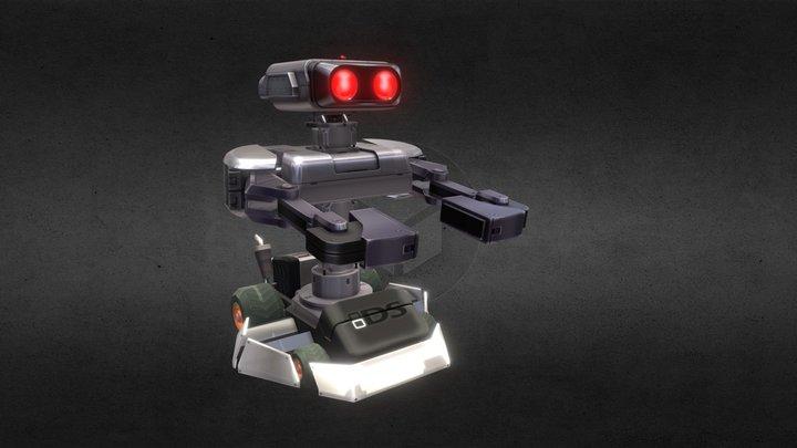 MarioKart Rob 3D Model