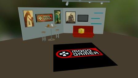 Modo Gamer- Studio set 3D Model