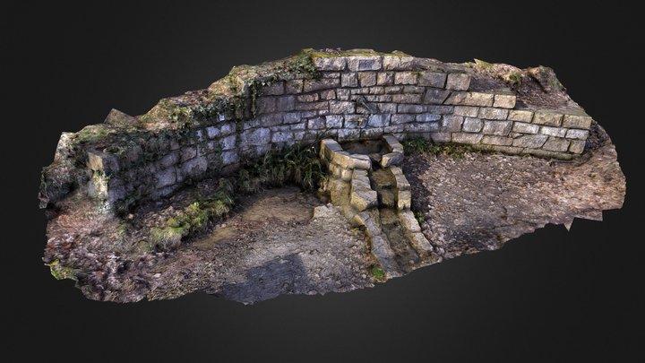 well / Quellbrunnen 3D Model