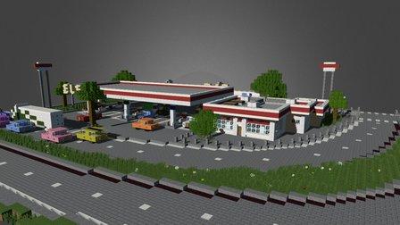 commercial003 3D Model