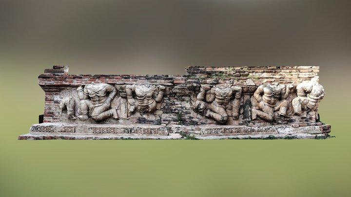 Stuccowork Form Ayuddhaya 3D Model