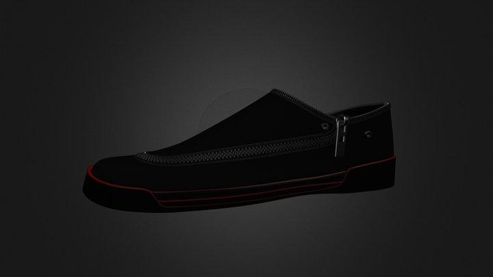 Sneaker (Low Height) 3D Model