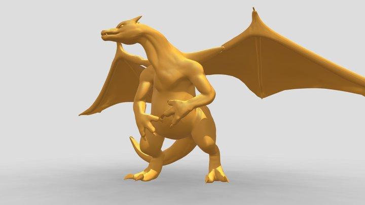 Charizard 3D Model