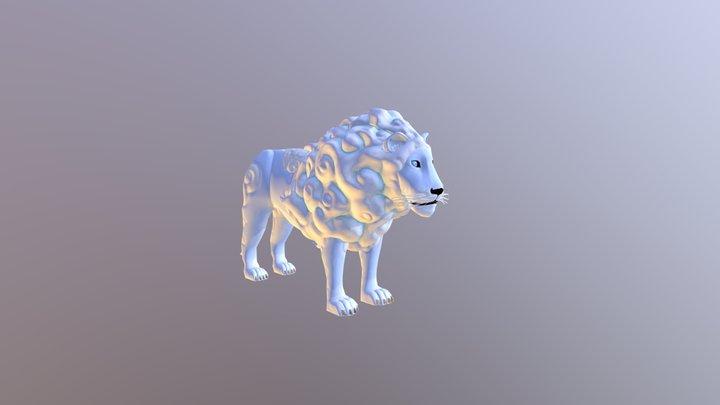 Cloud Lion 3D Model