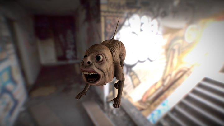 Misformed creature 3D Model