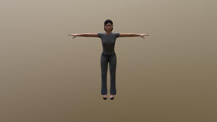 Tluafed 3D Model